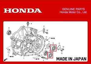 GENUINE HONDA TRANSMISSION GEARBOX BEARINGS CIVIC TYPE R EP3 INTEGRA DC5 K20A   eBay