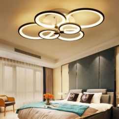 Led Ceiling Light Living Room Movie Themed Ideas Modern Bedroom Remote Control Acrylic 4 8 Image Is Loading