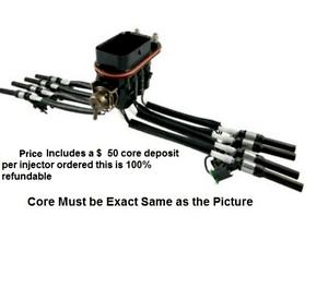 1999-2000 CADILLAC ESCALADE 5.7L (White Tubing) MPFI