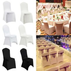 Paper Chair Covers For Weddings Herman Aeron Review 10 20 50 100 Spandex Banquet Folding Cover Wedding Reception Image Is Loading