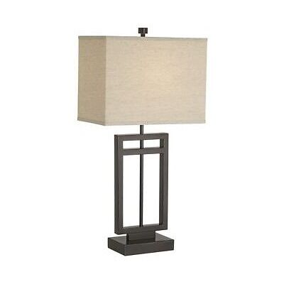 pacific coast lighting 87 6576 20 central loft 1 light table lamp bronze with for sale online ebay