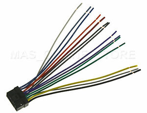 Alpine Cda 9886 Wire Harness Wire Harness For Alpine Cde Sxm145bt Cdesxm145bt Pay
