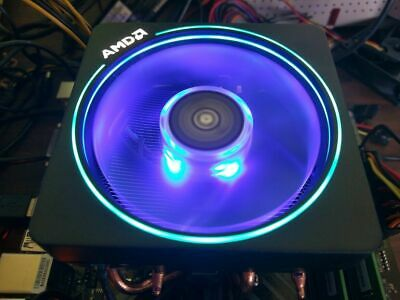 NEW AMD Wraith Prism LED RGB Copper CPU Cooler 4pin Fan P/N: 712-000075 Rev: C   eBay