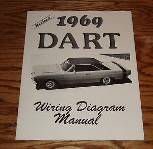 1969 Dodge Dart Revised Wiring Diagram Manual 69 | eBay