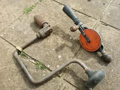 Vintage Stanley Hand Drill