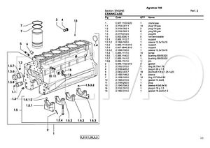 Deutz-Fahr Agrotron Series Parts Catalogue, Original
