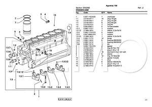 Deutz-Fahr agroprima Series Parti Catalogo, manuale