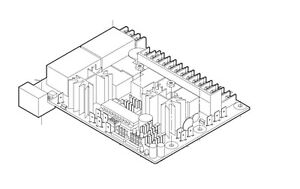 Liftmaster K79-13493-600 Logic Control Board Assembly