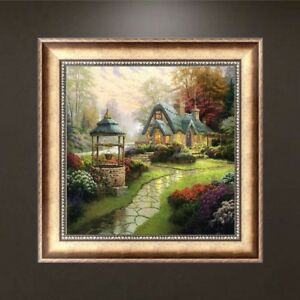 DIY 5D Diamond Embroidery House Painting Cross Stitch Art Craft Decor Gift