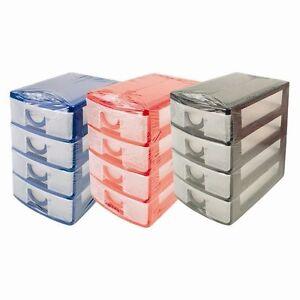 details sur pratique mini 4 tiroir tour rangement unite bureau bureau tiroir magasin gb