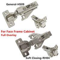 Hidden Face Frame Kitchen Cabinet Door Hinges Clip-On Soft ...