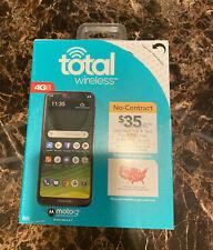Motorola Moto G7 Optimo Maxx 32gb Black Total Wireless Prepaid For Sale Online Ebay