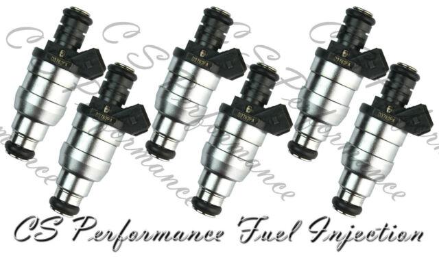 OEM Lucas Fuel Injectors (6) Set D3762FA for 87-93 BMW 2