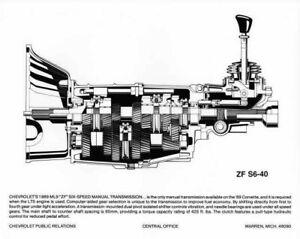 1989 Chevrolet Corvette ZF 6-Speed Manual Transmission