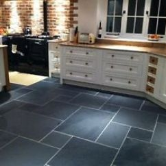 Slate Floor Kitchen Sinks Reviews 600 Mm X 10 Calibrated Black Brazilian Flooring Image Is Loading