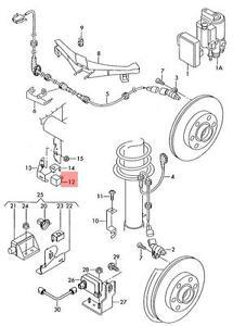 Genuine Accelerator Sensor Lhd VW AUDI Beetle Golf R32 GTI