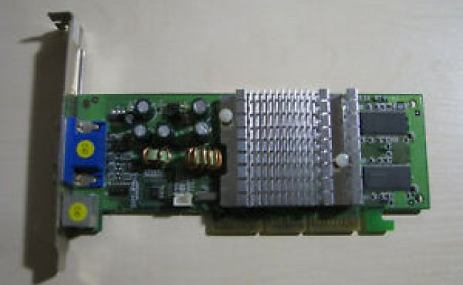 Nvidia Geforce Fx 5200 Sp 8834 128mb Ddr Vga Tv Out