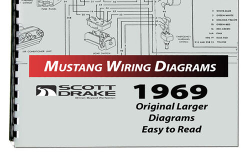 1969 ford mustang wire diagram manual larger easy to read