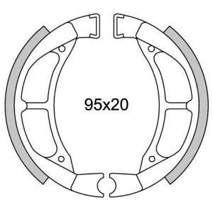 Rear brake jaws newfren gf.1217 yamaha jog 50 90/LC 50 M