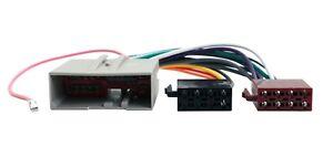 ford fiesta mk6 audio wiring diagram u haul 4 way flat radio tm schwabenschamanen de 02 05 car stereo iso adaptor harness ebay rh com