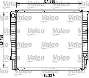 VALEO Engine Cooling Radiator Fits VOLVO 240 740 940 960