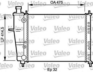 VALEO Engine Cooling Radiator Fits FIAT Brava Bravo Marea