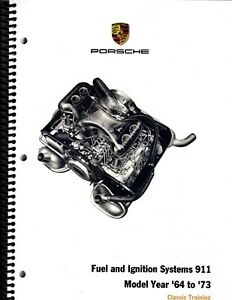 Porsche 911 service info manual fuel/ignition systems 1964