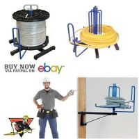 Madison Electric Cable Reel Entry Wire Spool Racks ...