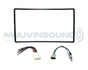 Radio Stereo Installation Dash Kit Combo 2DIN + Wire