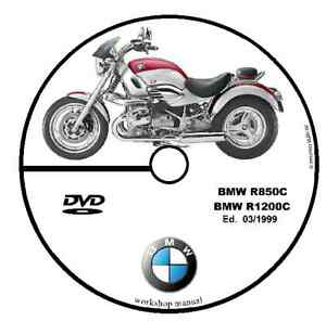 WORKSHOP MANUAL BMW R850 C R1200 C MY 03/1999 SERVICE
