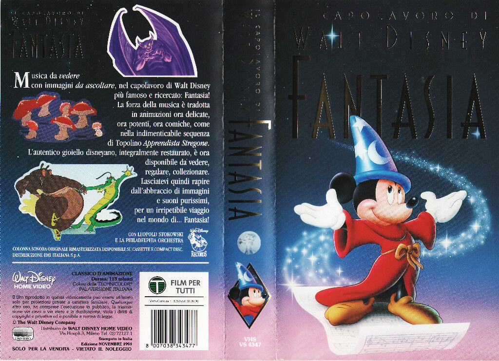 Fantasia VHS