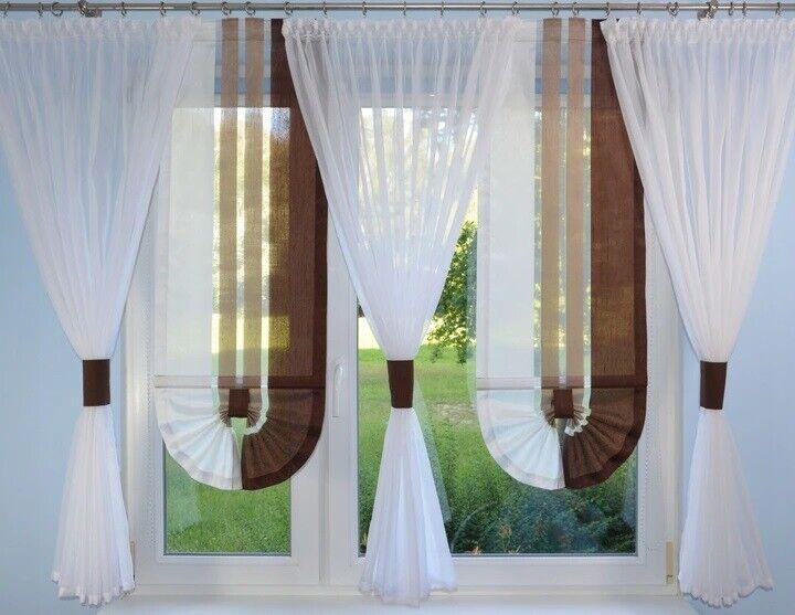 details sur moderne rideaux salon decoration pour fenetre braun fenetre 180 240 no 775