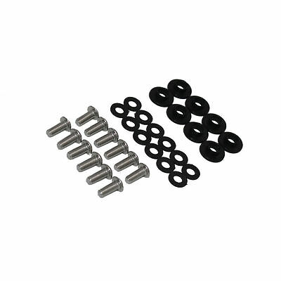 Black Fairing Bolt Kit body screws fasteners Fit Yamaha