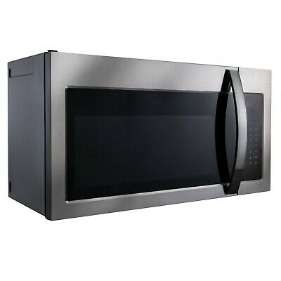 rv microwave over the range convection oven 30 stainless steel 120v ebay