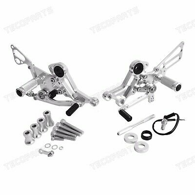 CNC Rear Sets Footrests for Ducati Monster 696 2008-2013