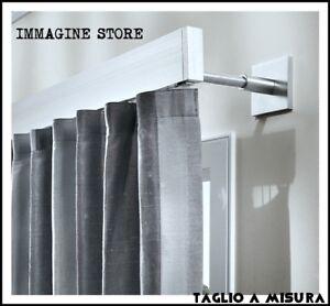 Che cosa è un bastone per tende? Bastone Tenda Acciaio Moderno Scorritenda Parete Soffitto A Misura Tendaggi Onde Ebay
