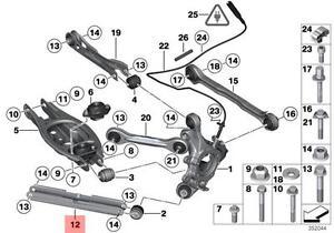 Genuine BMW E81 E82 E84 Control Trailing Arm Repair Kit