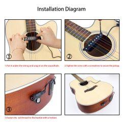 belcat sh 85 acoustic guitar soundhole pickup 6 string for sale online ebay [ 1200 x 1200 Pixel ]
