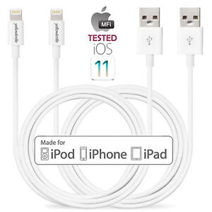 Lot Lightning USB Charger Charging Data Sync Cable for