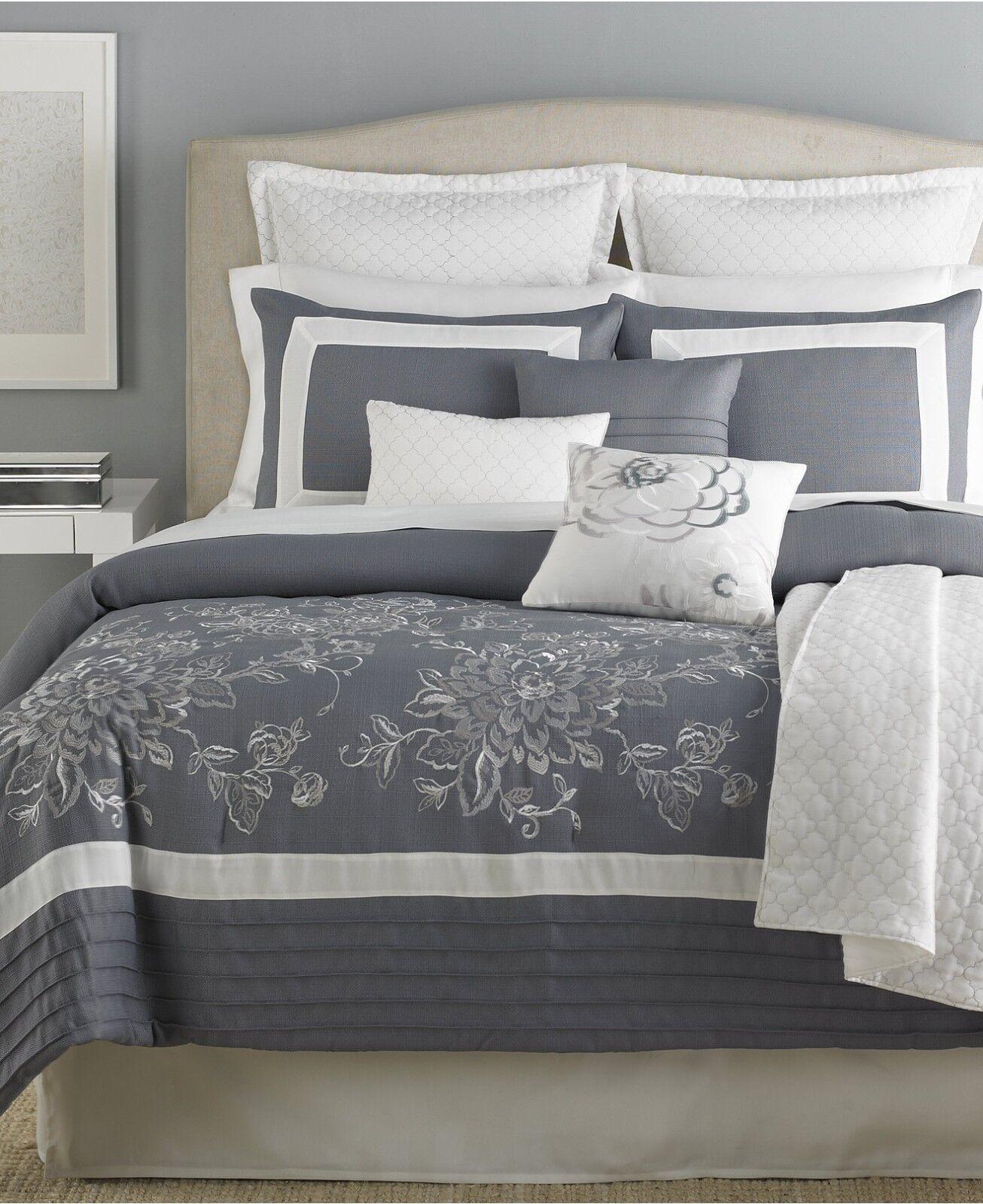 pastille 10 5 piece king comforter set gray cream t459