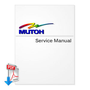 MUTOH ValueJet VJ-1608 Series Service Manual (PDF File