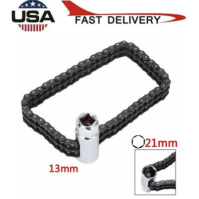 Universal Car Heavy Duty Oil Filter Chain Strap Wrench