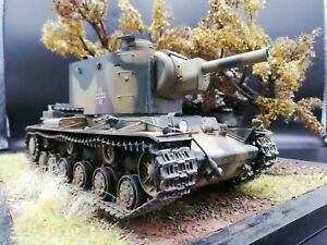 Trumpeter 00312 Russian KV-2 Captured tank by German Army. 1/35 Built & Painted   eBay
