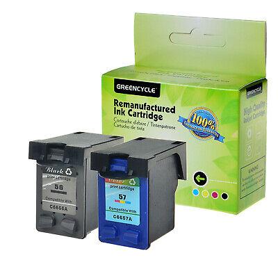 2PK For HP PSC 2410 2210 2175 2110 1350 1315 Ink Cartridge 56 57 C6656AN C6657AN | eBay