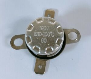 details about oem 1907 ksd 100 c 60 thermostat thermal fuse switch sharp ge samsung microwave
