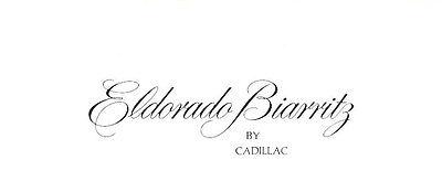 1976 1977 Cadillac Eldorado Biarritz Coupe tri-folding