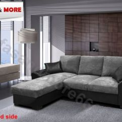 Gianni Corner Sofa Bed Review Miami Palliser Grey Or Brown Jumbo Cord Fabric Leather With New Storage