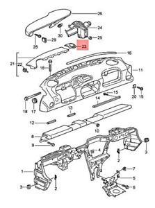 Genuine PORSCHE 911 996 Boxster Carrera Cover Nephrite