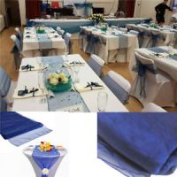 30 x 275cm Organza Table Runner Multi Purpose Wedding ...