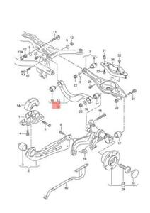Genuine VW Golf Mk7 Gti Performance Pack Upper Wishbone